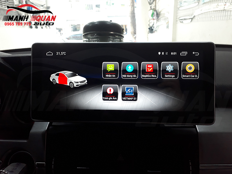 Đầu DVD android Mercedes