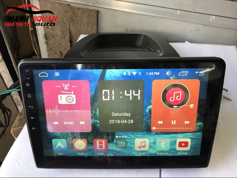 Đầu DVD android xe Ford Ecosport