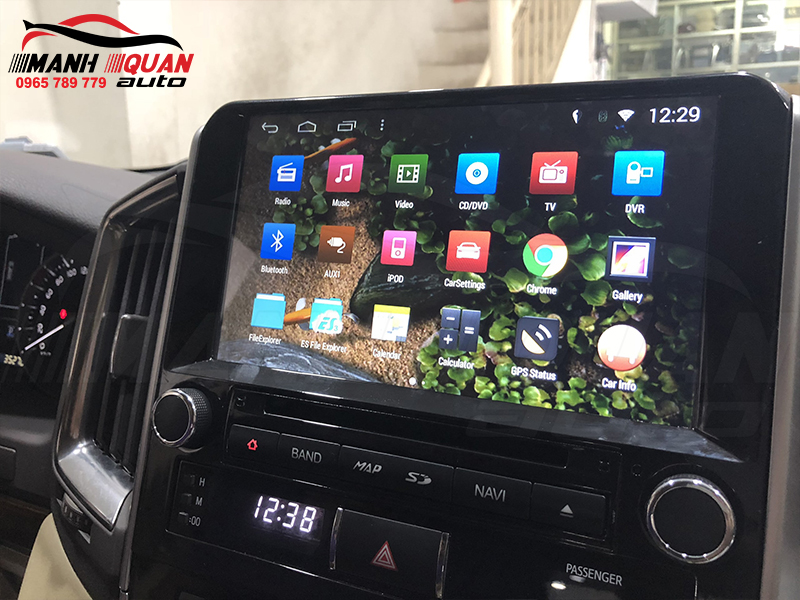 Đầu android oto Land Cruiser