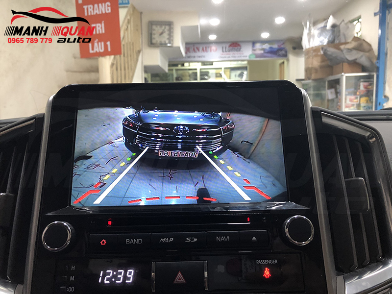 Đầu android Toyota Land Cruicer